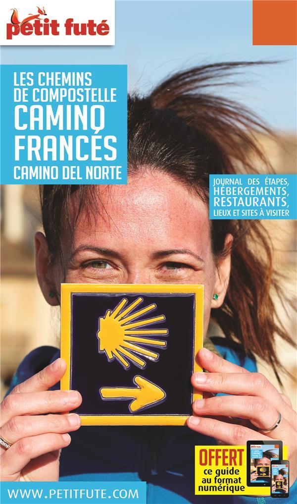 CHEMINS COMPOSTELLE - CAMINO FRANCES 2020 PETIT FUTE + OFFRE NUM
