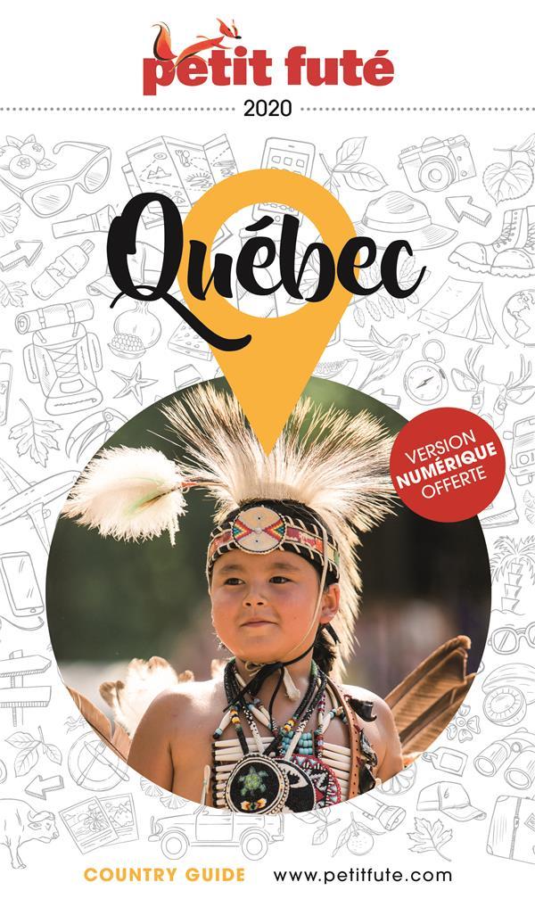 QUEBEC 2020 PETIT FUTE + OFFRE NUM