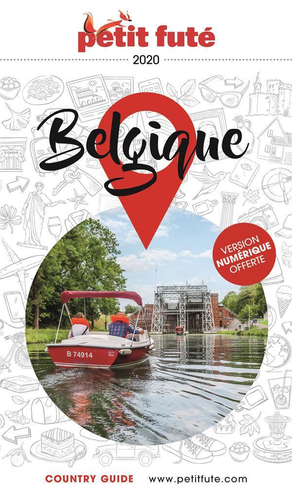 BELGIQUE 2020 PETIT FUTE + OFFRE NUM