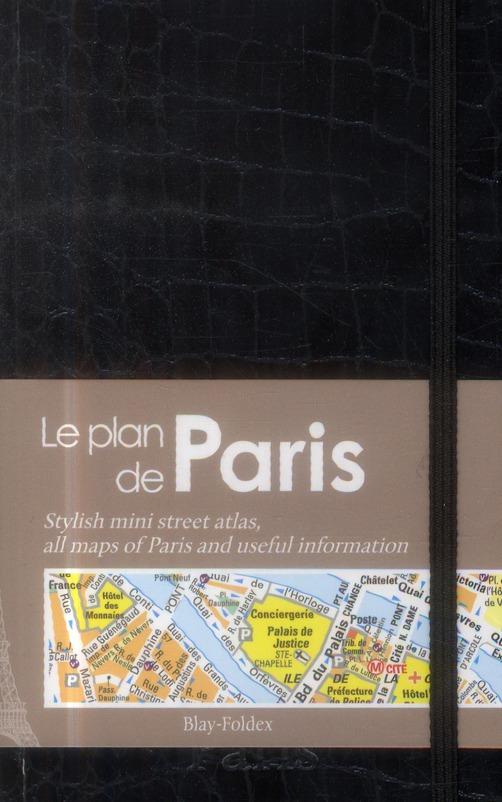 PARIS LE MINI PLAN CHIC NOIR