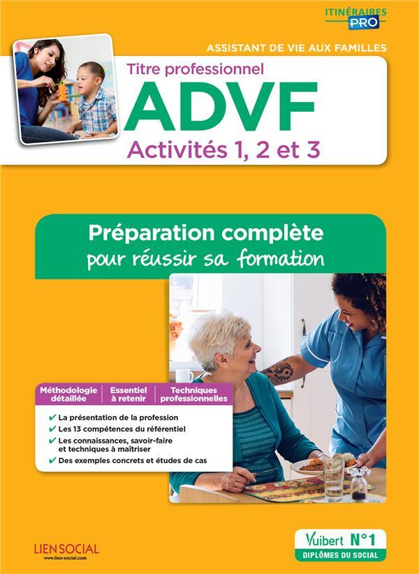 TITRE PROFESSIONNEL ADVF ACTIVITES 1A3 PREPA COMPLETE PR REUSSIR SA FORMATION