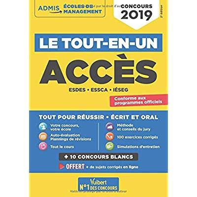 CONCOURS ACCES - TOUT-EN-UN