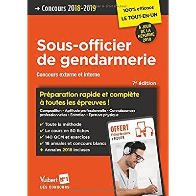 CONCOURS SOUS-OFFICIER GENDARMERIE PREPARATION RAPIDE ET COMPLETE 7ED