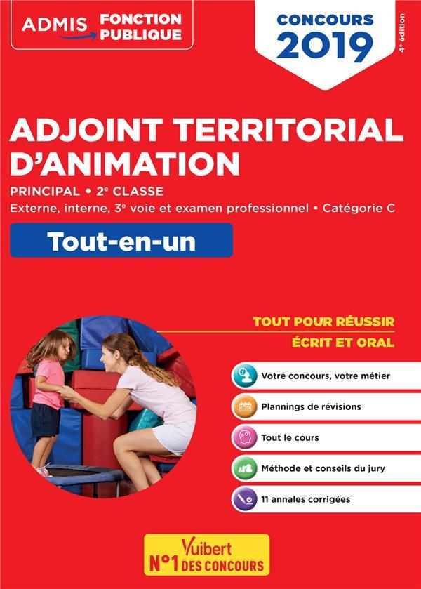 CONCOURS 2019 ADJOINT TERRITORIAL D'ANIMATION TOUT-EN-UN CATEGORIE C