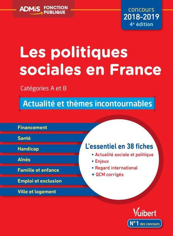 POLITIQUES SOCIALES COURS ACTUALITE ET QCM CATEGORIES A ET B