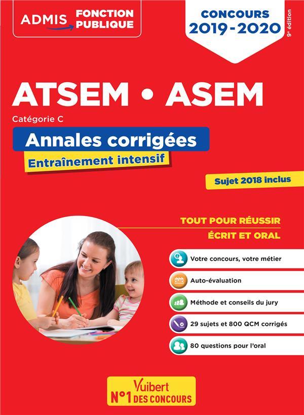 CONCOURS ATSEM ASEM CATEGORIE C ANNALES CORRIGEES