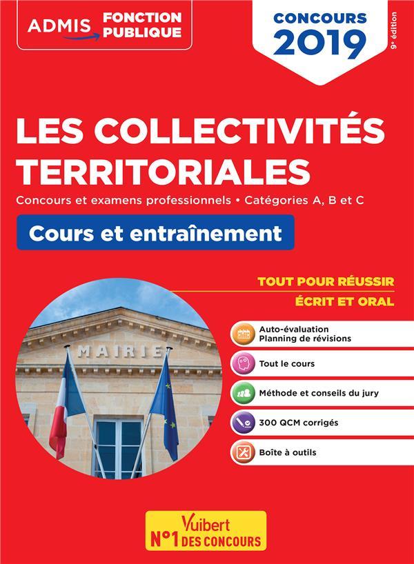 COLLECTIVITES TERRITORIALES CONCOURS 2019 COURS ET ENTRAINEMENT