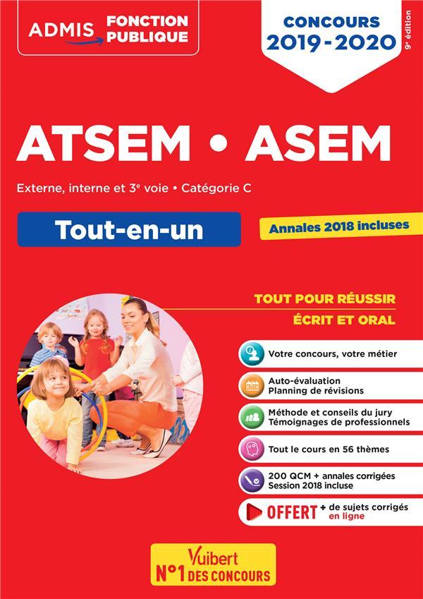 CONCOURS 2019-2020 ATSEM ASEM TOUT-EN-UN