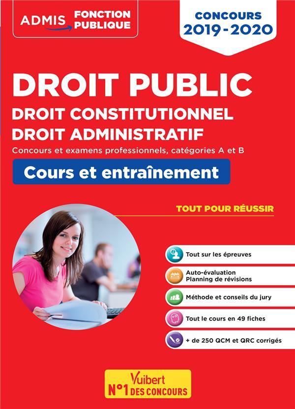 DROIT PUBLIC CONCOURS 2019-2020