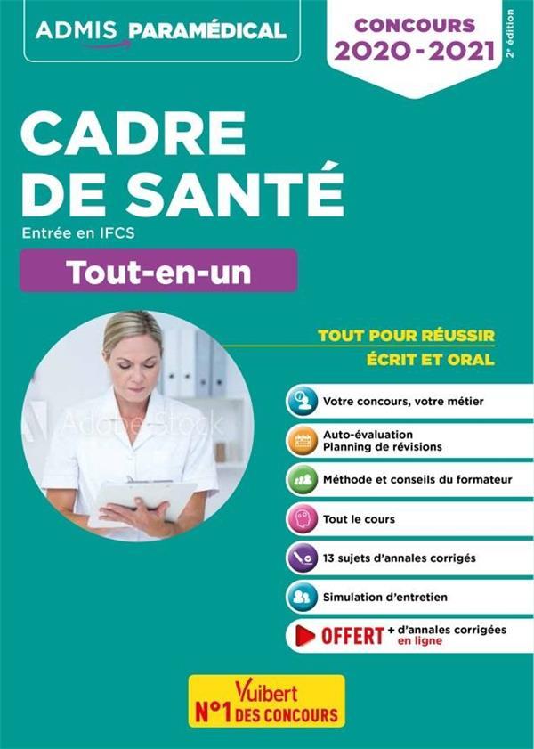 CONCOURS 2020-2021 CADRE DE SANTE ENTREE EN IFCS TOUT-EN-UN