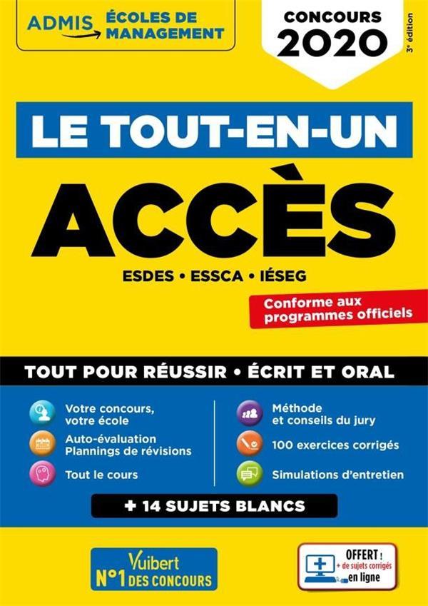 LE TOUT-EN-UN ACCES CONCOURS 2020
