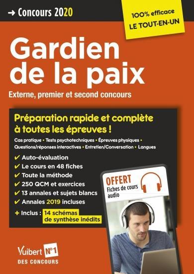 GARDIEN DE LA PAIX CONCOURS 2020