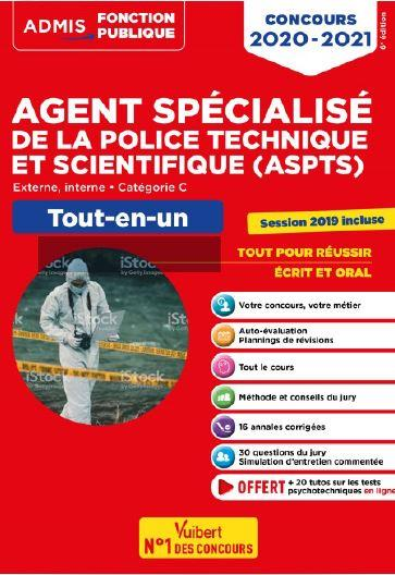AGENT SPECIALISE DE LA POLICE TECHNIQUE ET SCIENTIFIQUE (ASPTS)