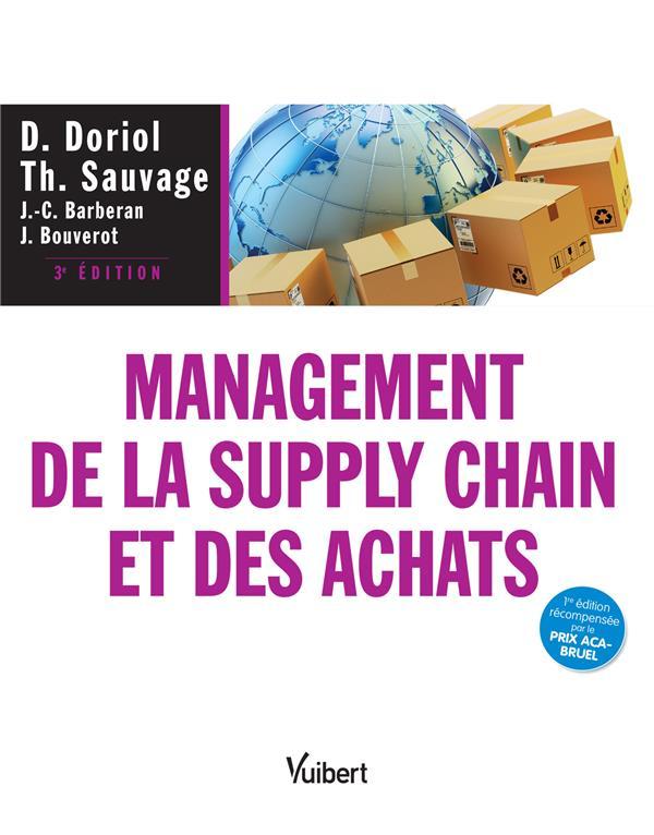 MANAGEMENT DE LA SUPPLY CHAIN ET DES ACHATS