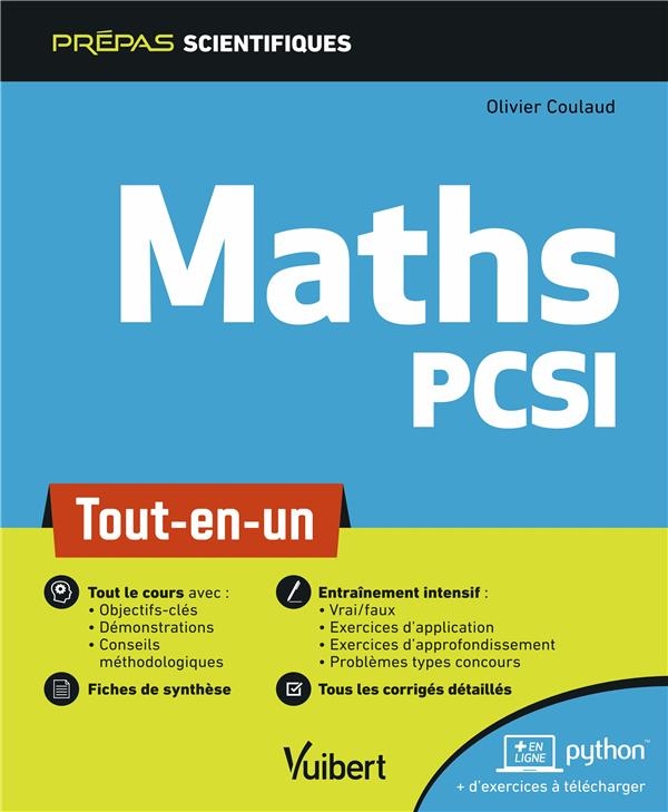 MATHS PCSI