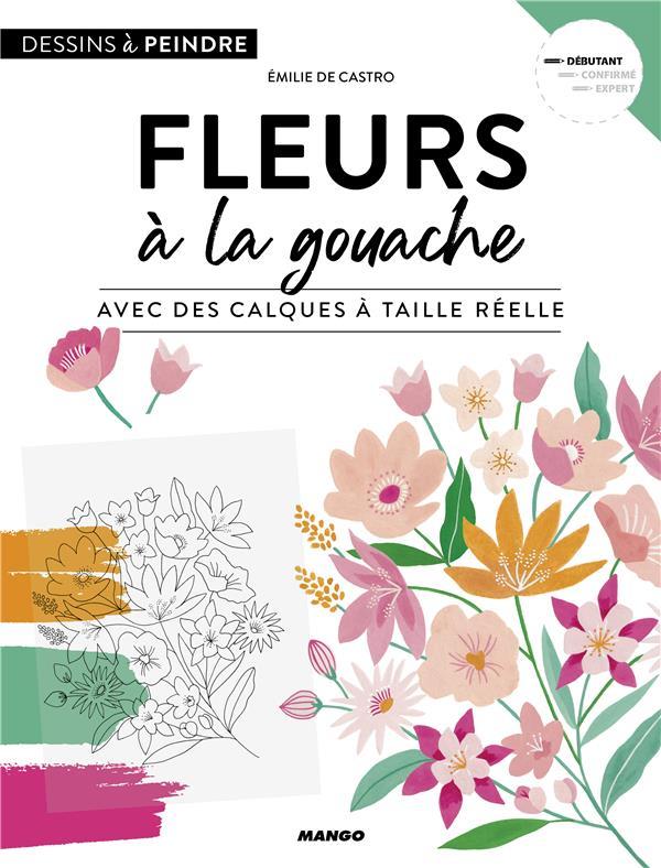 FLEURS A LA GOUACHE