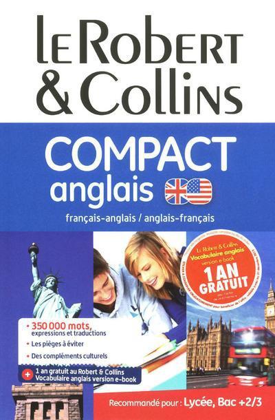 COMPACT ANGLAIS - LE ROBERT & COLLINS
