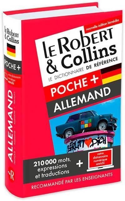 LE ROBERT & COLLINS POCHE+ ALLEMAND NE
