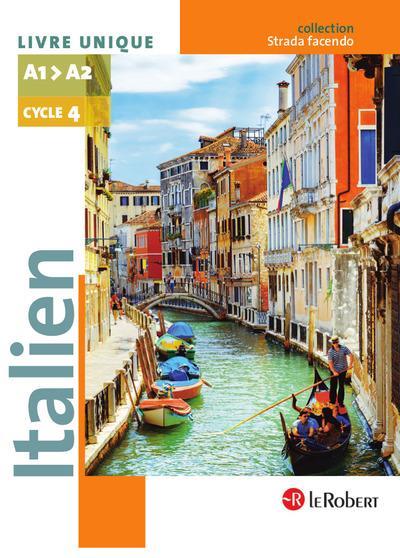 ITALIEN CYCLE 4 A1>A2 LIVRE UNIQUE