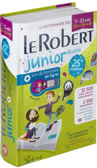 LE ROBERT JUNIOR ILLUSTRE + SON DICTIONNAIRE EN LIGNE + CLE