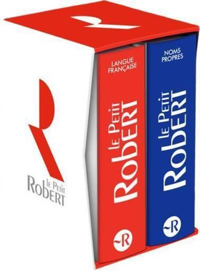 COFFRET LE PETIT ROBERT LANGUE FRANCAISE + BIMEDIA + LE PETIT ROBERT DES NOMS PROPRES