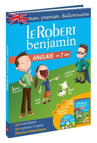 LE ROBERT BENJAMIN ANGLAIS - MON PREMIER DICTIONNAIRE