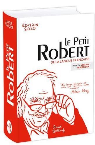 LE PETIT ROBERT DE LA LANGUE FRANCAISE BIMEDIA