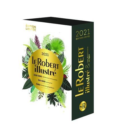LE ROBERT ILLUSTRE ET SON DICTIONNAIRE EN LIGNE 2021 - COFFRET DE FIN D'ANNEE