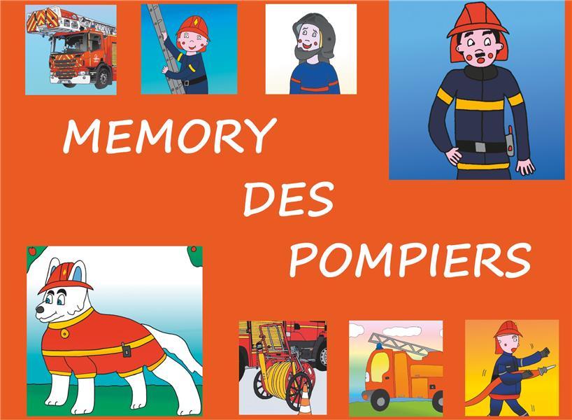 MEMORY DES POMPIERS - JEU DE SOCIETE A DECOUPER