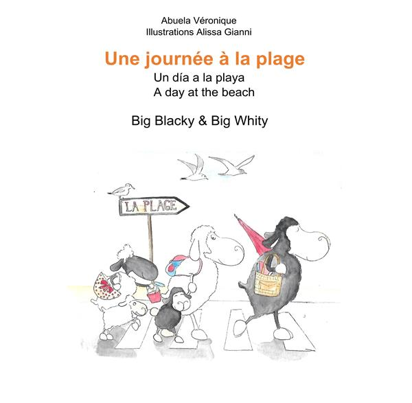 UNE JOURNEE EN FAMILLE - 1/- - UNE JOURNEE A LA PLAGE - BIG BLACKY & BIG WHITY