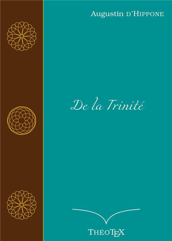 DE LA TRINITE