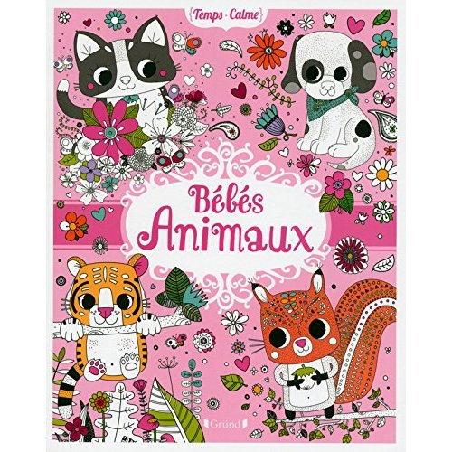 BEBES ANIMAUX (COLORIAGES)