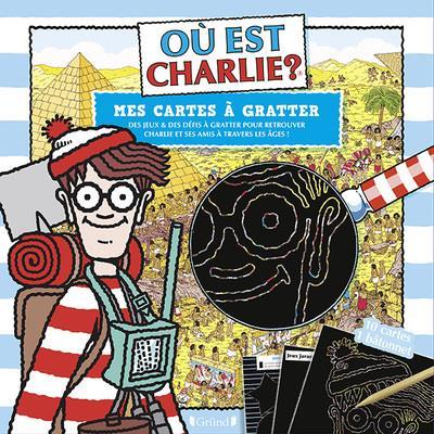 OU EST CHARLIE ? - MES CARTES A GRATTER - A TRAVERS LES AGES