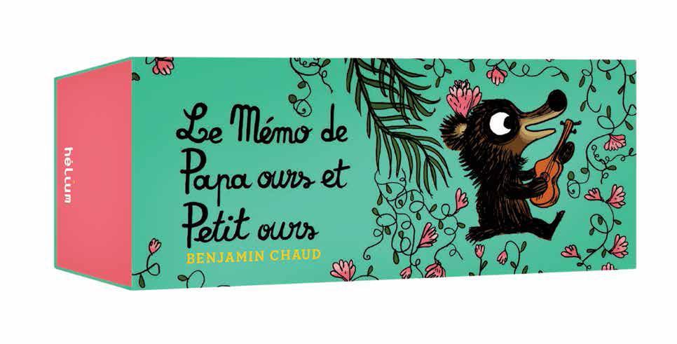 (PVC)-13,90E-LE MEMO DE PAPA OURS ET PETIT OURS 60 CARTES