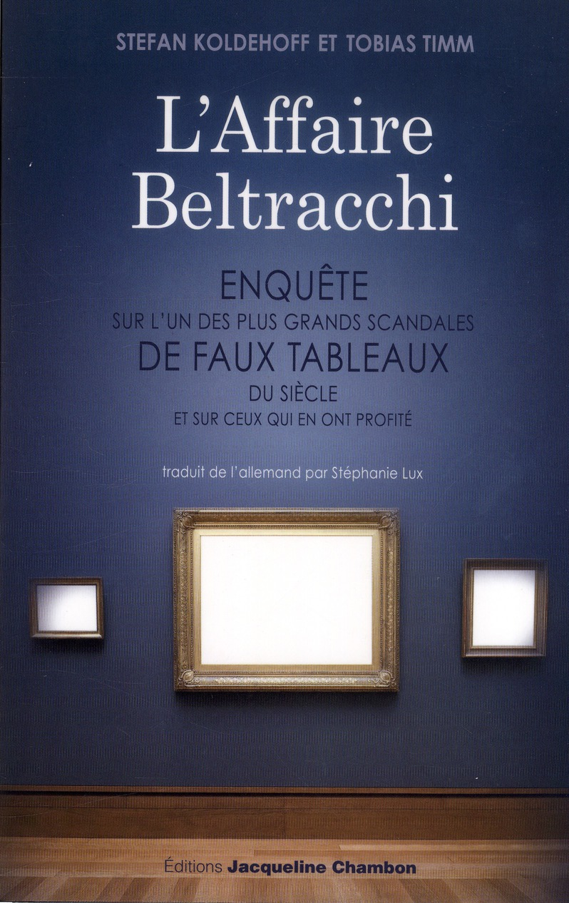 L'AFFAIRE BELTRACCHI
