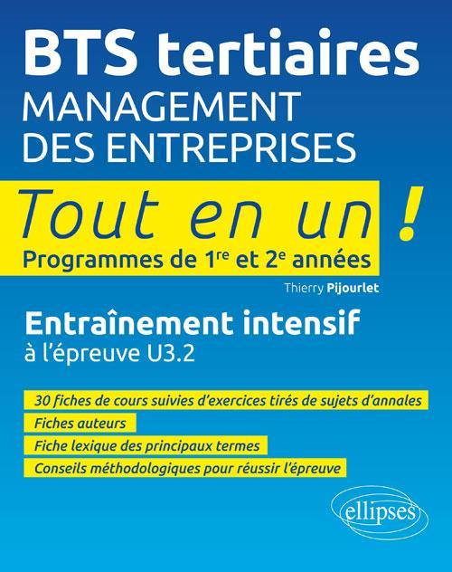 MANAGEMENT DES ENTREPRISES ENTRAINEMENT INTENSIF A L'EPREUVE U3.2