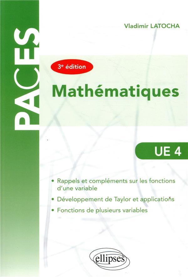 UE4 MATHEMATIQUES 3EME EDITION