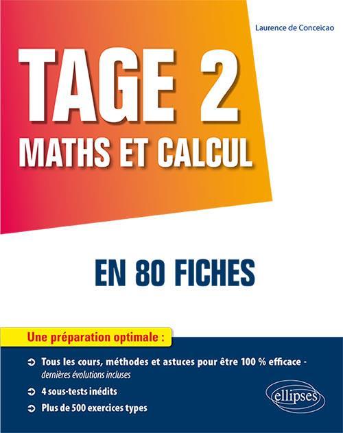 TAGE 2  : MATHS ET CALCUL EN 80 FICHES