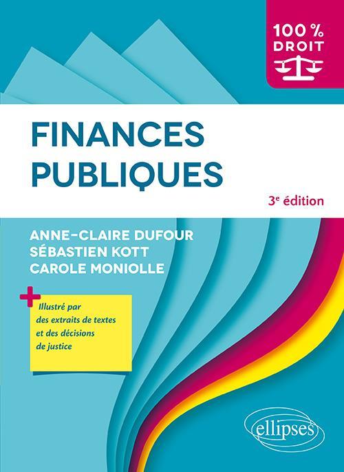 FINANCES PUBLIQUES - 3E EDITION