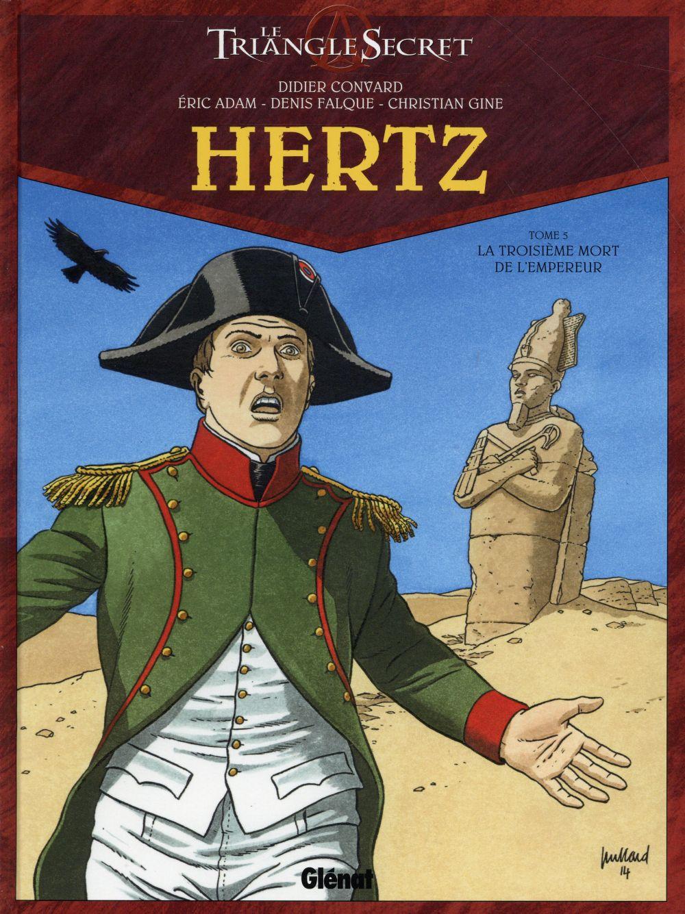 HERTZ - TOME 05 - LA TROISIEME MORT DE L'EMPEREUR