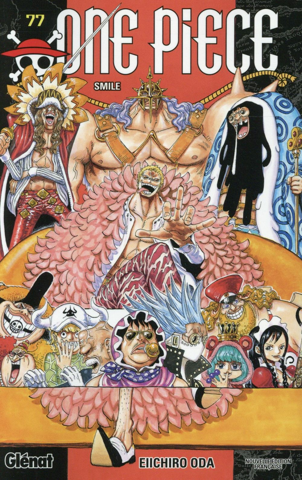 "ONE PIECE - EDITION ORIGINALE - TOME 77 - ""SMILE"""