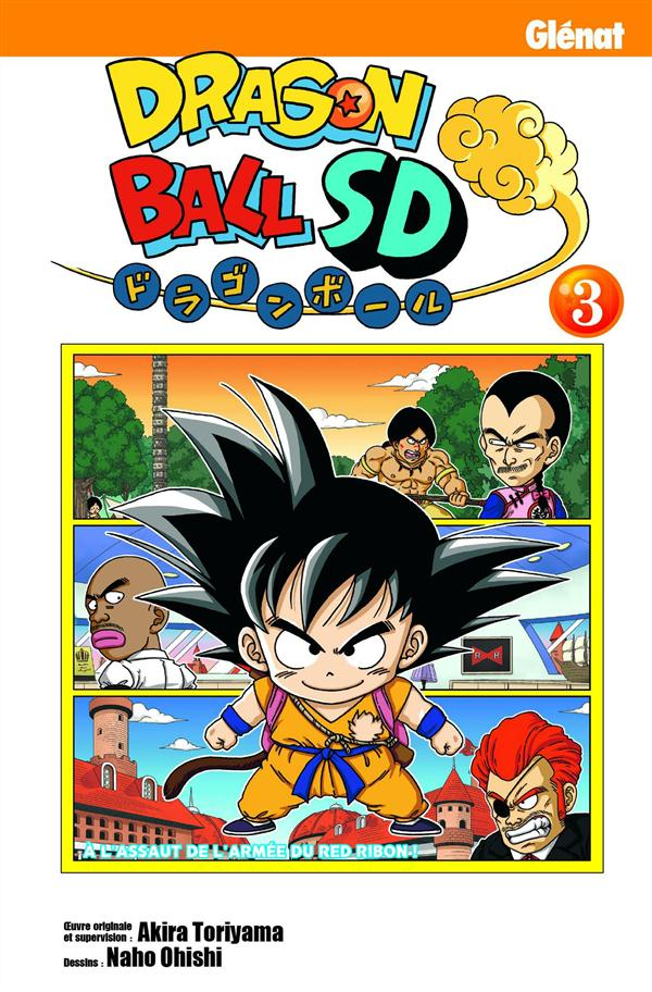DRAGON BALL SD - TOME 03