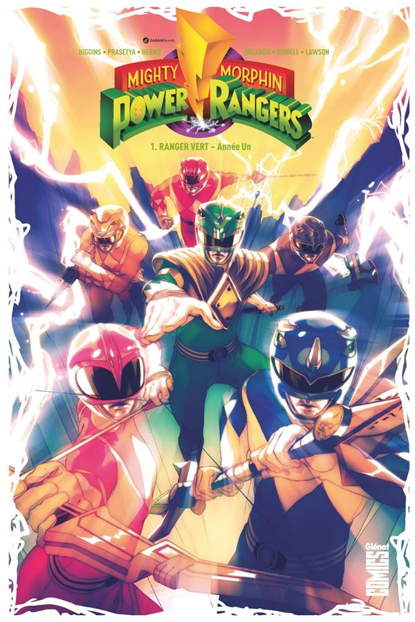 POWER RANGERS - TOME 01