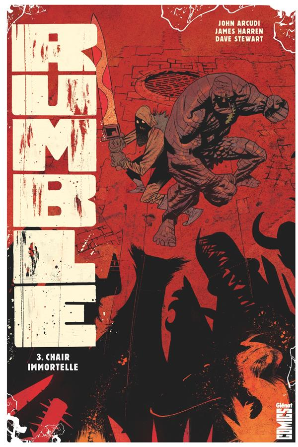 RUMBLE - TOME 03 - ETREINTE DE L'IMMORTALITE