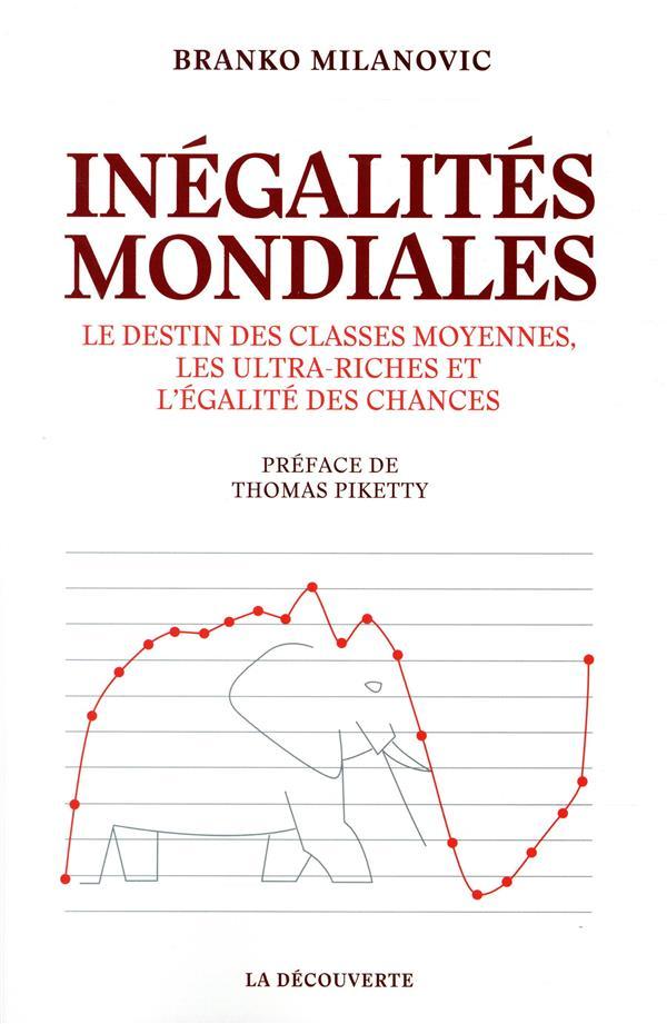 INEGALITES MONDIALES - LE DESTIN DES CLASSES MOYENNES, LES ULTRA-RICHES ET L'EGALITE DES CHANCES