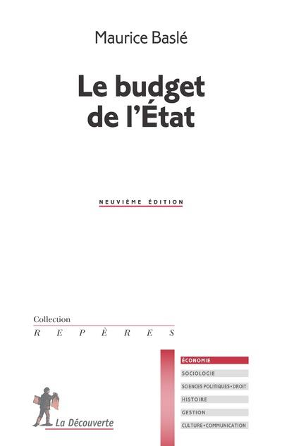 LE BUDGET DE L'ETAT (9EME EDITION)