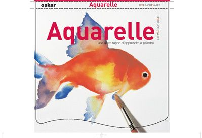 L'AQUARELLE - LIVRE CHEVALET
