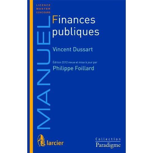 FINANCES PUBLIQUES  -  13 EME EDITION