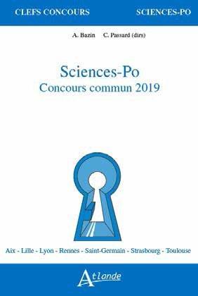 SCIENCES PO CONCOURS COMMUN 2019 - LE SECRET - LE NUMERIQUE
