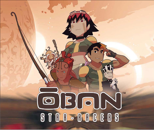 OBAN STAR RACERS ARTBOOK